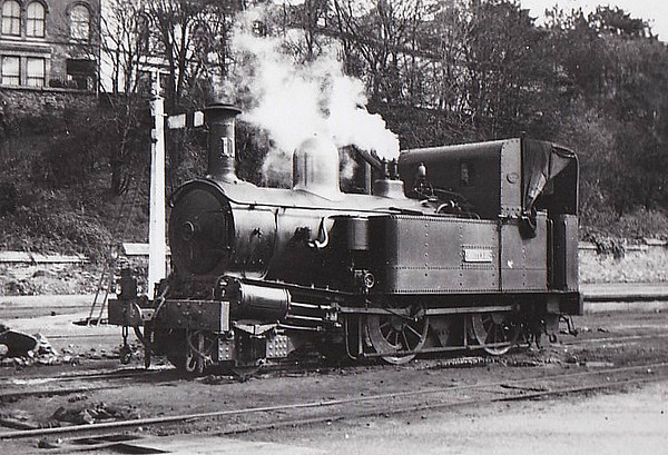 ISLE OF MAN RAILWAY - No.11 MAITLAND - 2-4-0T - built 1905 by Beyer Peacock Ltd - undergoing rebuild since 2007.
