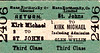 MANX NORTHERN RAILWAY TICKET - ST. JOHNS - Third Class Return to Kirk Michael, including admission to Glen Wyllin.