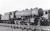 90202 -  WD Class 8F 2-8-0 - built 10/43 by North British Loco Co. as WD No.7235 - 01/45 to WD No.77235, 11/50 to BR No.90202 - 04/65 withdrawn from 41D Canklow - seen here at Coalville, 04/63.