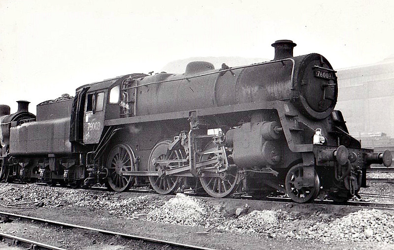 76003 - Riddles BR Class 3 2-6-0 - built 12/52 by Horwich Works - 03/66 withdrawn from 66B Mothwell.