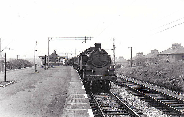 82026 - Riddles BR Class 3 2-6-2T - built 11/54 by Swindon Works - 06/66 withdrawn from 70A Nine Elms.