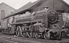 72003 CLAN FRASER - Riddles BR Clan Class 6P5F 4-6-2 - built 01/52 by Crewe Works - 12/62 withdrawn from 66A Polmadie - seen here at St Rollox, 1952.