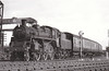 77012 - Riddles BR Class 3MT 2-6-0 - built 06/54 by Swindon Works - 06/67 withdrawn from 50A York North - seen here at Geneva Curve on a Saltburn - Darlington train in June 1954.