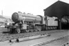 90111 - WD Class 8F 2-8-0 - built 03/43 by North British Loco Co., Works No.24984, as WD No.7013 - 01/45 to WD No.77013, 05/50 to BR No.90111 - 04/64 withdrawn from 36C Frodingham - seen here at Grantham in 1963.