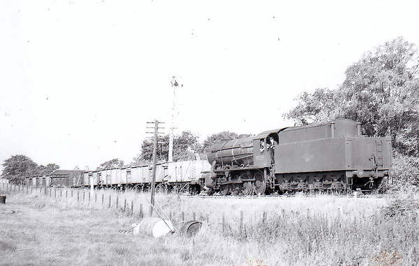 90559 - WD Class 8F 2-8-0 - built 08/43 by Vulcan Foundry Co. as WD No.7095 - 01/45 to WD No.77095, 09/50 to BR No.90559 - 12/62 withdrawn from 36A Doncaster.