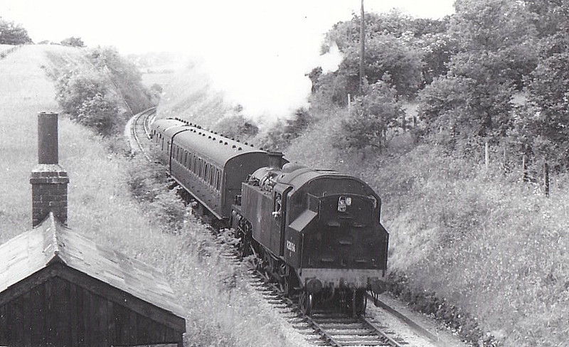 82036 - Riddles BR Cass 3 2-6-2T - built 04/55 by Swindon Works - 07/65 withdrawn from 82E Bristol Barrow Road.