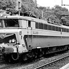 SNCF 40101, Liege Guillemins, 9th July 1990.