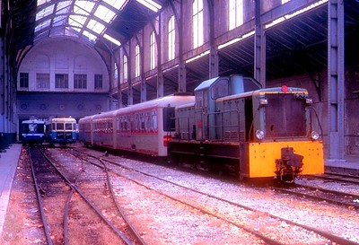 BB401 (right), Nice CFP station, 3rd November 1989.