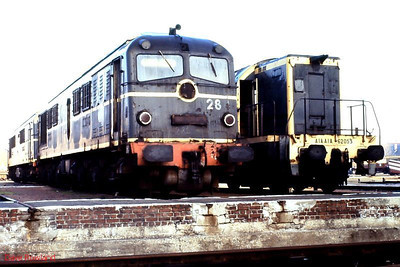 CC 65528 & A1A A1A 62023 appear to have a less than bright future, dumped at Paris La Plaine depot on 26th November 1988.
