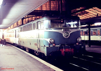 BB 16041 is pictured at Paris Gare du Nord on 25th November 1988.