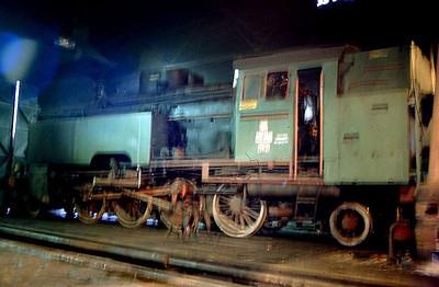 PKP Tkt48 143, Wolsztyn depot, 2nd March 1994.