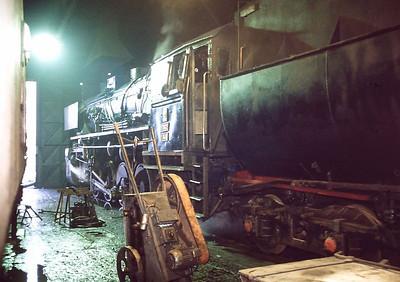 PKP Ty42 148, Wolsztyn depot, 2nd March 1994