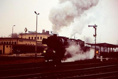 PKP Ty2 1086, Wolsztyn, 3rd March 1994.
