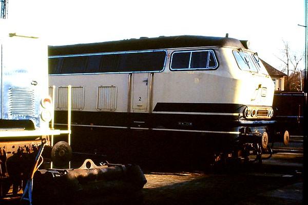 216 057, Osnabruck 1 depot, 24th February 1990.