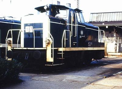 360 160, Hamm depot, 23rd February 1990.