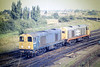 20057 amd 20132 have come from Whitemoor to go on Depot, 18/08/87.