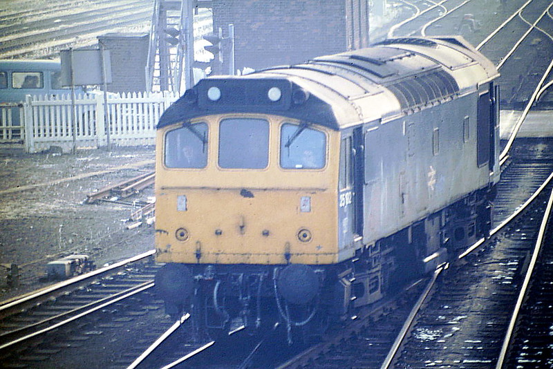 25192 heads for March Depot 0H94 from Bury, 18/02/86, just 3 months left in traffic.