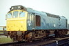 25161 is stabled on March Depot, 08/10/84, just one month before withdrawal.