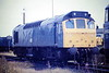 25181 sits on March Depot, 17/08/85. This loco was withdrawn in August 1986.