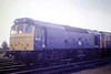 25213 sits on March Depot just 6 months before withdrawal, 25/09/86.