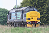 37259 heads east past Horsemoor as 0Z57 Toton TMD - Stowmarket, 28/04/14.