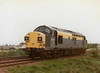 37012 passes Silt Road LC heading east, 08/08/96. This loco was withdrawn 06/99 from Toton Depot.