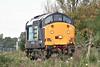 37604 passes Horsemoor on a Crewe Gresty Bridge - Norwich Crown Point light engine move, 01/10/14.