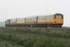 37603 propels DVT 9702 towards Welney Road AHB on 3Q77 Derby RTC - Norwich via Kings Lynn, 22/06/15.