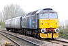 47813 JACK FROST approaches Badgeney Road AHB on 5L46 Leicester - Ely North Junction, 30/03/20.