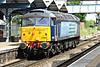 47813 runs through March Station as 0Z47 Crewe Gresty Bridge - Stowmarket, 17/06/14.
