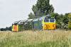 50007 leads D8059, D306 and 37219 past Horsemoor AHB on 0Z50 Washwood Heath - Sheringham for the weekend NNR Diesel Gala, 12/06/14.
