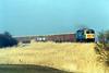 56006 approaches Beggars Bridge on 6Z26 Stud Farm - Bury slag, 21/02/03.