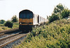 60049 approaches Chettisham on 6M87 Ely North Junction - Peak Forest RMC stone empties, 11/10/05.