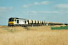 60005 heads for March past Horsemoor on the Trowse - Mountsorrel Redland stone empties, 15/04/97.