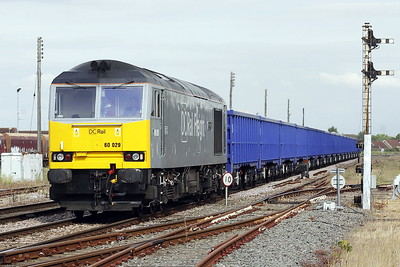 60029 BEN NEVIS approaches March East on 6Z19 Middleton Towers - St Helens Ravenhead Glassworks sand, 14/06/21.