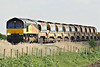 66849, originally Freightliner 66576, approaches Welney Road AHB on 6L37 Hoo Junction - Whitemoor Yard, 14/04/14.
