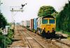 66514 passes Manea on 4L85 Leeds - Felixstowe, 14/05/05.
