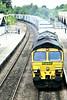 66501 JAPAN 2001 passes through March Station on 4L85 Doncaster Railport - Felixstowe North, 16/07/04.