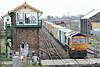 66732 passes March East on 4E33 Felixstowe North - Doncaster Railport, 31/03/14