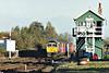 66710 approaches Whittlesea on 4E33 Felixstowe - Doncaster Railport, 02/11/06.