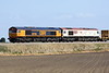 66790 and 66721 HARRY BECK approach Horsemoor AHB on 6L37 Hoo Junction - Whitemoor Yard, 21/04/21. 66790 was bought from Hector Rail in Sweden in June 2019 as their T66-403.