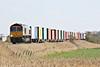 66733 approaches Horsemoor on 4E33 Felixstowe North - Doncaster Railport, 24/03/14.