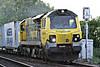 70009 approaches Badgeney Road AHB on 4L55 Doncaster Railport - Felixstowe North, 22/05/14.