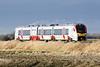 Class 755 335 returns to Three Horseshoes AHB No.1 on 2L75 1150 Peterborough - Ipswich, 11/01/20.
