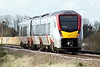 Class 755 327 slows for it's stop at Manea on 2E78 1358 Ipswich - Peterborough, 26/02/20.