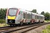 Class 755 334 passes Silt Road LC on 2E74 1001 Ipswich - Peterborough, 23/07/21.