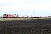 91132 is dragged by 67015 towards Three Horseshoes AHB No.1 on 1S17 1121 Kings Cross - Edinburgh, 11/01/20.