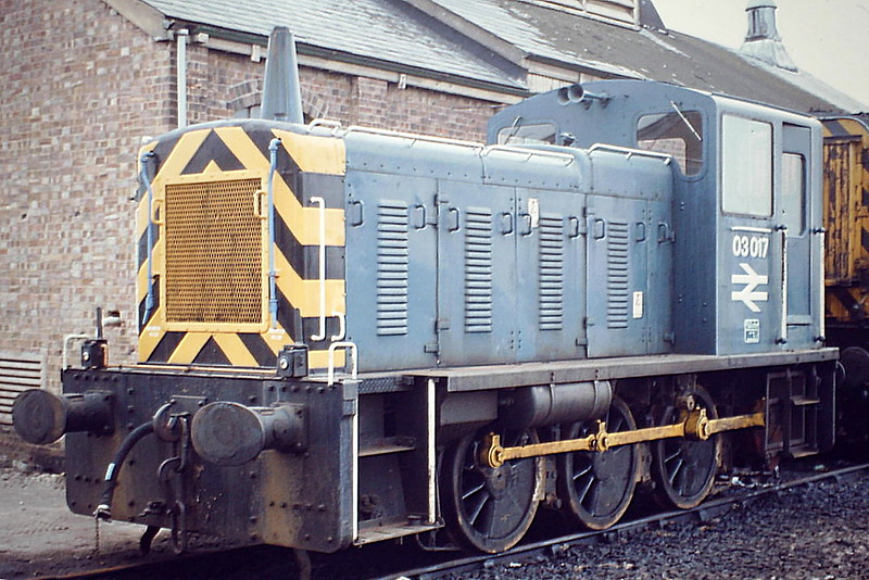 03017 on March Depot, 09/04/82, withdrawn in February 1982 and scrapped at Swindon Works in September 1982.