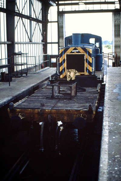 03089, withdrawn 11/87, has been extracted from the scrapline and is in the Depot for attention before going for preservation, 10/07/88.