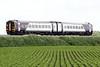 Class 158 773 passes Horsemoor on 1L08 1140 Nottingham - Norwich, 10/06/21.